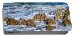 Portable Battery Charger featuring the photograph Ross Witham Beach Stuart Florida by Olga Hamilton