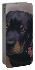 Rottweiler Dog Portable Battery Charger
