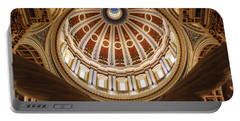Rotunda Dome On Wings Portable Battery Charger by Joseph Skompski