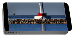 Round Island Passage Lighthouse Portable Battery Charger