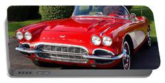 Route 66 - 1961 Corvette Portable Battery Charger