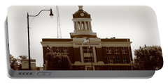 Route 66 - Beckham County Courthouse Portable Battery Charger