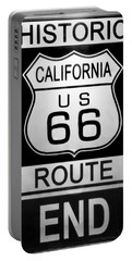 Route 66 End Portable Battery Charger