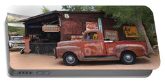 Route 66 Garage And Pickup Portable Battery Charger