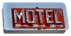 Route 66 Motel Sign Portable Battery Charger