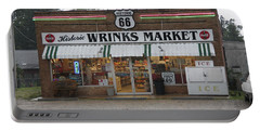 Route 66 - Wrink's Market Portable Battery Charger