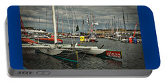Portable Battery Charger featuring the photograph Route Du Rhum Ready by Elf Evans