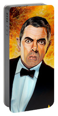 Rowan Atkinson Alias Johnny English Portable Battery Charger