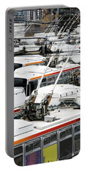 Rows Of Electric Powered Buses, San Portable Battery Charger