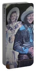 Roy Rogers And Dale Evans #2 Cut-outs Tombstone Arizona 2004 Portable Battery Charger