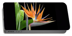 Portable Battery Charger featuring the photograph Royal Beauty I - Bird Of Paradise by Ben and Raisa Gertsberg