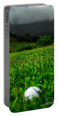 Portable Battery Charger featuring the photograph Royal Hawaiian Golf by Angela DeFrias
