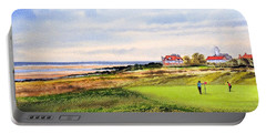 Royal Liverpool Golf Course Hoylake Portable Battery Charger by Bill Holkham
