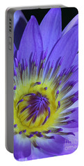 Royal Purple Water Lily #11 Portable Battery Charger
