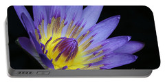 Royal Purple Water Lily #14 Portable Battery Charger