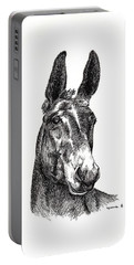 Portable Battery Charger featuring the painting Royalty by Bill Searle