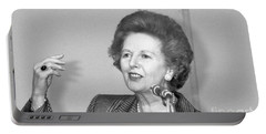 Rt.hon. Margaret Thatcher Portable Battery Charger