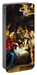Portable Battery Charger featuring the photograph Rubens Adoration by Granger