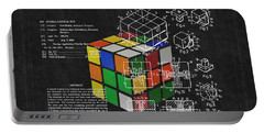 Rubik's Cube Patent 3 Portable Battery Charger