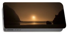 Ruby Beach Sunset Portable Battery Charger