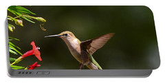 Ruby Throat Hummingbird Portable Battery Charger