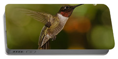 Ruby-throat Hummingbird Portable Battery Charger