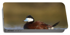 Portable Battery Charger featuring the photograph Ruddy Duck  by Bryan Keil