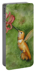 Rufous Hummingbird Portable Battery Charger