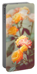 Portable Battery Charger featuring the photograph Rumba Rose by Ari Salmela