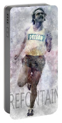 Running Legend Steve Prefontaine Portable Battery Charger