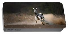 Running Zebra Portable Battery Charger