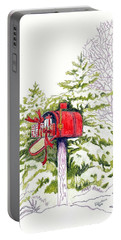 Country Living Christmas Delivery Portable Battery Charger