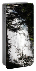 Rushing Through The Trees Portable Battery Charger