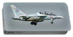 Russian Air Force Yak-130 Landing Portable Battery Charger by Daniele Faccioli