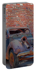 Rust In Goodland Portable Battery Charger by Lynn Sprowl