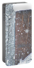 Rust Not Sleeping In The Snow Portable Battery Charger