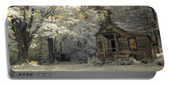 Rustic Cabin Portable Battery Charger