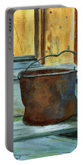 Rusty Bucket Portable Battery Charger