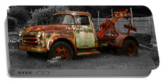 Rusty Tow Truck Portable Battery Charger