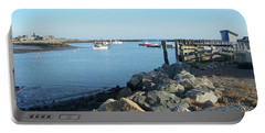 Rye Harbor  Portable Battery Charger by Eunice Miller