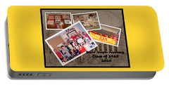 S J A Reunion Collage Picture Pile Portable Battery Charger