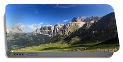 Saas Pordoi And Fassa Valley Portable Battery Charger