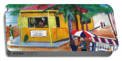 Sabor A Puerto Rico Portable Battery Charger by Luis F Rodriguez