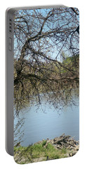 Fall At Sacramento River Scenic Photography Portable Battery Charger