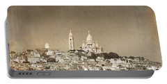 Sacre Coeur Basilica Of Montmartre In Paris Portable Battery Charger