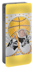 Saddle Oxfords And Basketball Portable Battery Charger