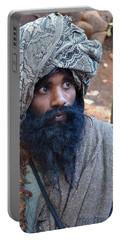 Sadhu At Amarkantak India Portable Battery Charger