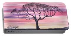 Safari Sunset  Portable Battery Charger