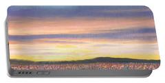 Sagebrush Sunset B Portable Battery Charger