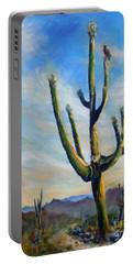 Saguaro Cacti Portable Battery Charger